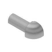 Schluter-Rondec Outside Corner for 5/16in. PVC Classic Gray Rondec Profile