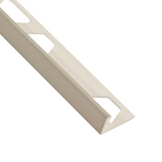 Schluter-Jolly Edge Trim 3/8in. in PVC with a Classic Gray Finish