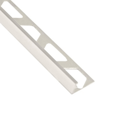 Schluter-Jolly Edge Trim 3/8in. in Polished Chrome Anodized Aluminum