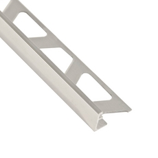 Schluter-Jolly Edge Trim 1/2in. in Polished Chrome Anodized Aluminum