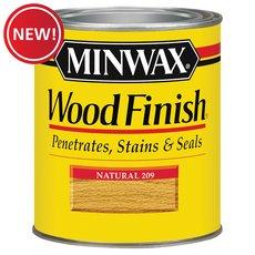 New! Minwax Natual Wood Stain 1/2 Pint