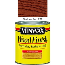 Minwax Sedona Red Wood Finish