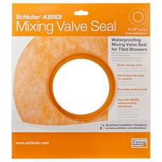Schluter-Kerdi-Seal-MV Mixing Valve with 4-1/2in. Opening