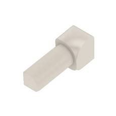 Schluter-Rondec Inside Corner for 5/16in. PVC Sand Pebble Rondec Profile