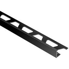 Schluter Jolly Edge Trim 1/2in. Aluminum Bright Black