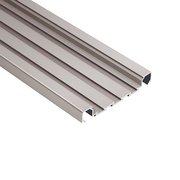 Schluter Quadec-Fs Deco 5/16in. Aluminum Satin Nickel