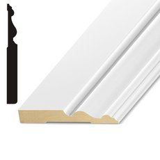 Primed MDF Imperial Base Molding