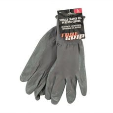 True Grip All Purpose Nitrile Coated Gloves Large