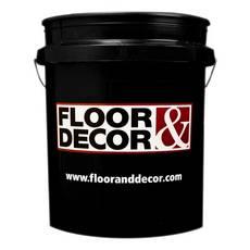 Floor and Decor Logo Black Bucket