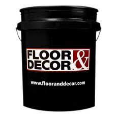 Floor and Decor Logo Black Bucket