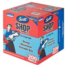 Scott Blue Shop Towels