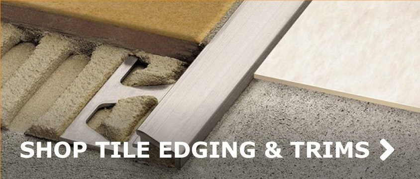 SHOP TILE EDGING & TRIMS