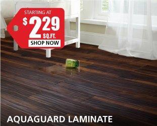 Aquaguard Laminate Starting At $2.29 Per Square Foot ...