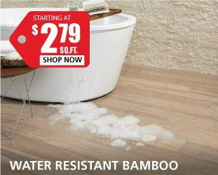 Water Resistance Bamboo $2.79 Per Square Foot ...