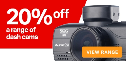 20% of a range of dashcams
